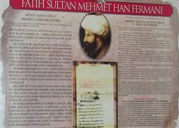 İslamofobiye karşı Fatihin fermanı