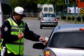 Trafik cezası yakacak