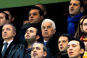 Derviş Eroğlu da izledi