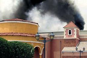AVM'de yangın: 19 ölü