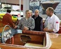 Rahmi Koç, Boat Show'u gezdi