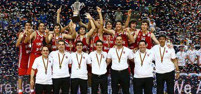 Türkiye Basketbol Genç Milli Takımı Avrupa şampiyonu oldu.