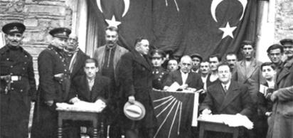 Ordu, Giresun ve Trabzon'da Cumhuriyet Halk Partililerin siyasi toplantı yapmalarına izin verilmedi.
