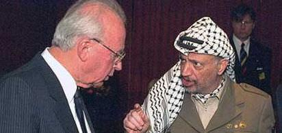 Filistin Kurtuluş Örgütü lideri Yaser Arafat ile İsrail başbakanı İzak Rabin, Batı Şeria'nın Filistin yönetimine devri konusunda anlaştılar.