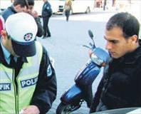 Alkollü şoföre bin 462 lira