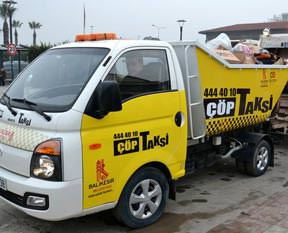 Yeni moda çöp taksi