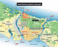 Kanal İstanbul'un güzergahı netleşti