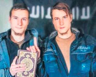 IŞİDden Alman ikizli reklam