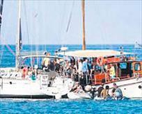 İsrailden yardım gemisine baskın
