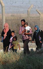 YPG sınırda etnik temizlik yapıyor!
