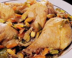 Antepfıstıklı Tarçınlı Tavuk Tarifi