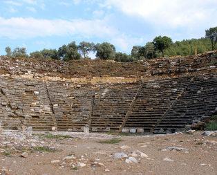 Gladyatörlerin Şehrinde kazı çalışması