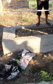 Mezarlıkta esrarengiz olay!