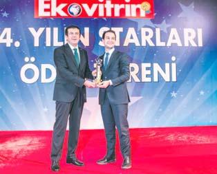 Cemal Kalyoncuya Yılın işadamı ödülü