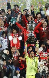 2015 Copa Americanın şampiyonu Şili