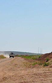 Özel Kuvvetler Komutanı Suriye sınırında
