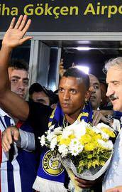 Yıldız oyuncu İstanbulda!