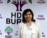 HDPli Kolçak şemsiyeyi silah yaptı