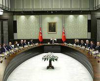 Erdoğan, Bakanlar Kurulunu topluyor