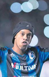 Ronaldinhoda pürüz var