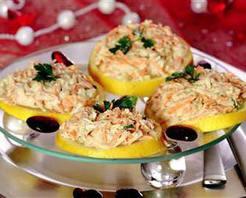 Portakal Dilimi Üzerinde Kereviz Salatası Tarifi