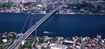 İstanbul Boğazı, Fatih Sultan Mehmet Köprüsü yapımı tamamlandı.