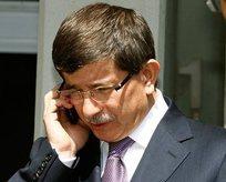 Başbakan Davutoğludan sürpriz telefon
