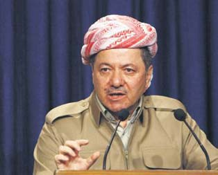 Mesud Barzani PKKyı eleştirdi