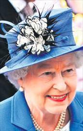 Kraliçe panikte