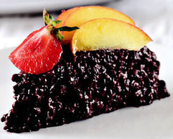 Siyah Pirinç Pastası Tarifi
