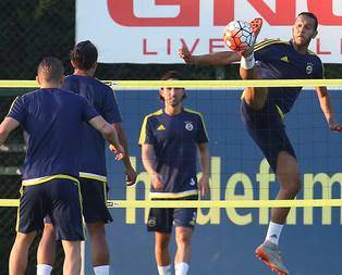 Fenerbahçede Shakhtar Donetsk mesaisi