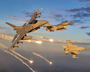 F-16lar havalandı! PKK kamplarına 8. operasyon