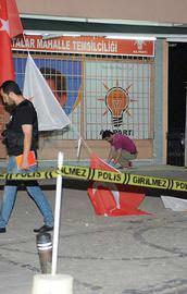 AK Parti temsilciliğine bombalı saldırı