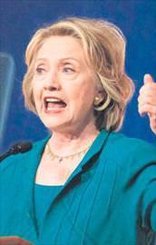 Clinton için sağlam raporu