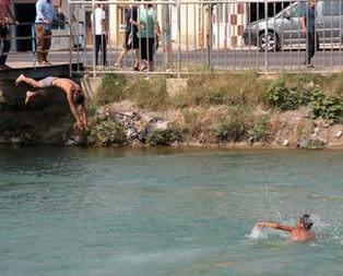 Dalgıçlar ceset aradı çocuklar yüzdü
