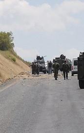 PKKdan askeri araca mayınlı tuzak