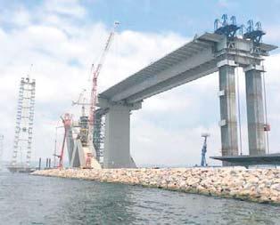 Körfez köprüsü Martta açılıyor
