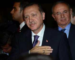 Erdoğandan şehit ailesine ziyaret