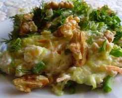 Buğdaylı Kabak Salatası Tarifi