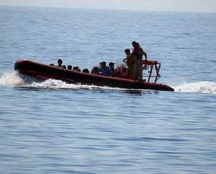 2 bin 365 göçmen Akdenizde can verdi