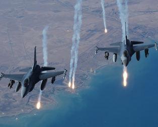 DAEŞ hedeflerine 20 hava saldırısı