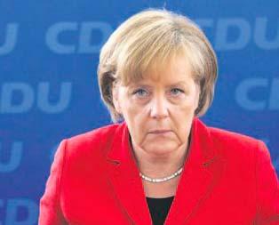 Hain Merkel çılgına çevirdi