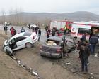 Kayseride trafik kazası