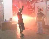 İstanbul duman altında!