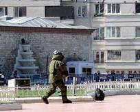 Taksim Meydanında panik