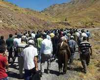 Şemdinli halkı PKKya isyan etti!