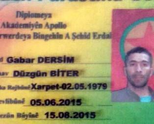 PKKnın bölge sorumlusu yakalandı