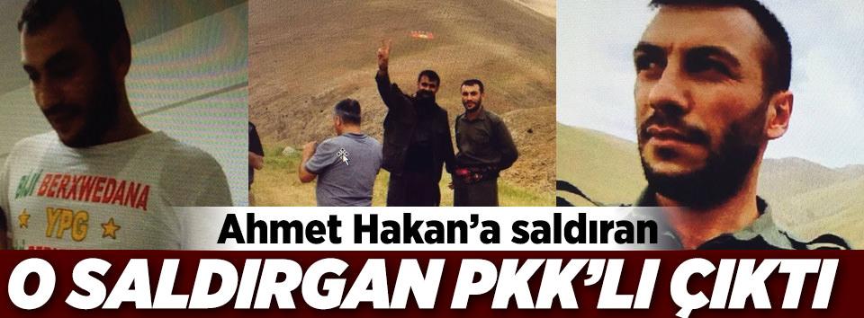 Ahmet Hakana saldıran zanlı PKKlı çıktı