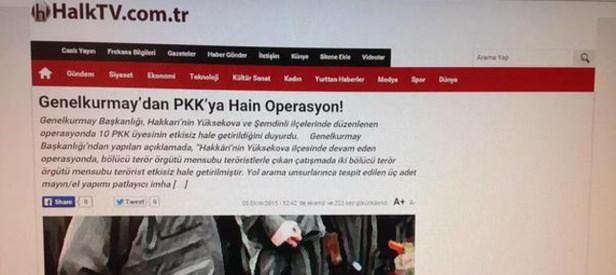 Halk TV Türk Silahlı Kuvvetlerine hain dedi