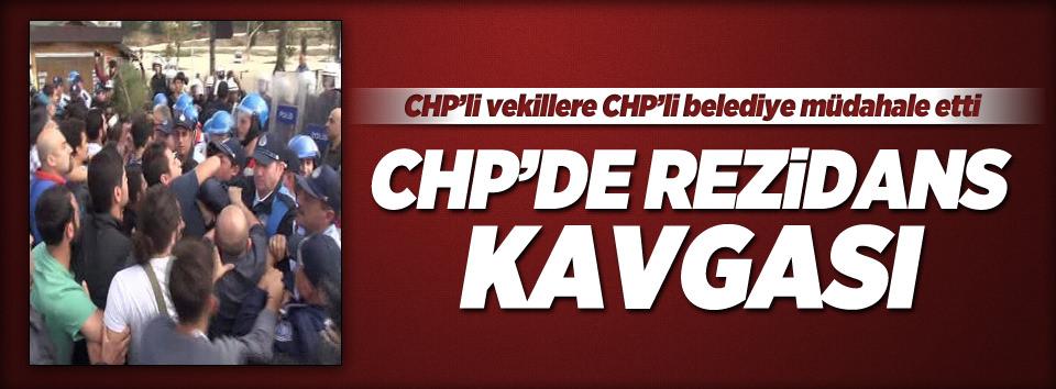 CHPde rezidans kavgası